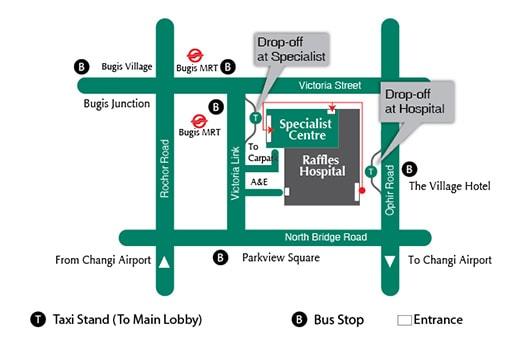 Raffles Specialist Centre & Raffles Hospital