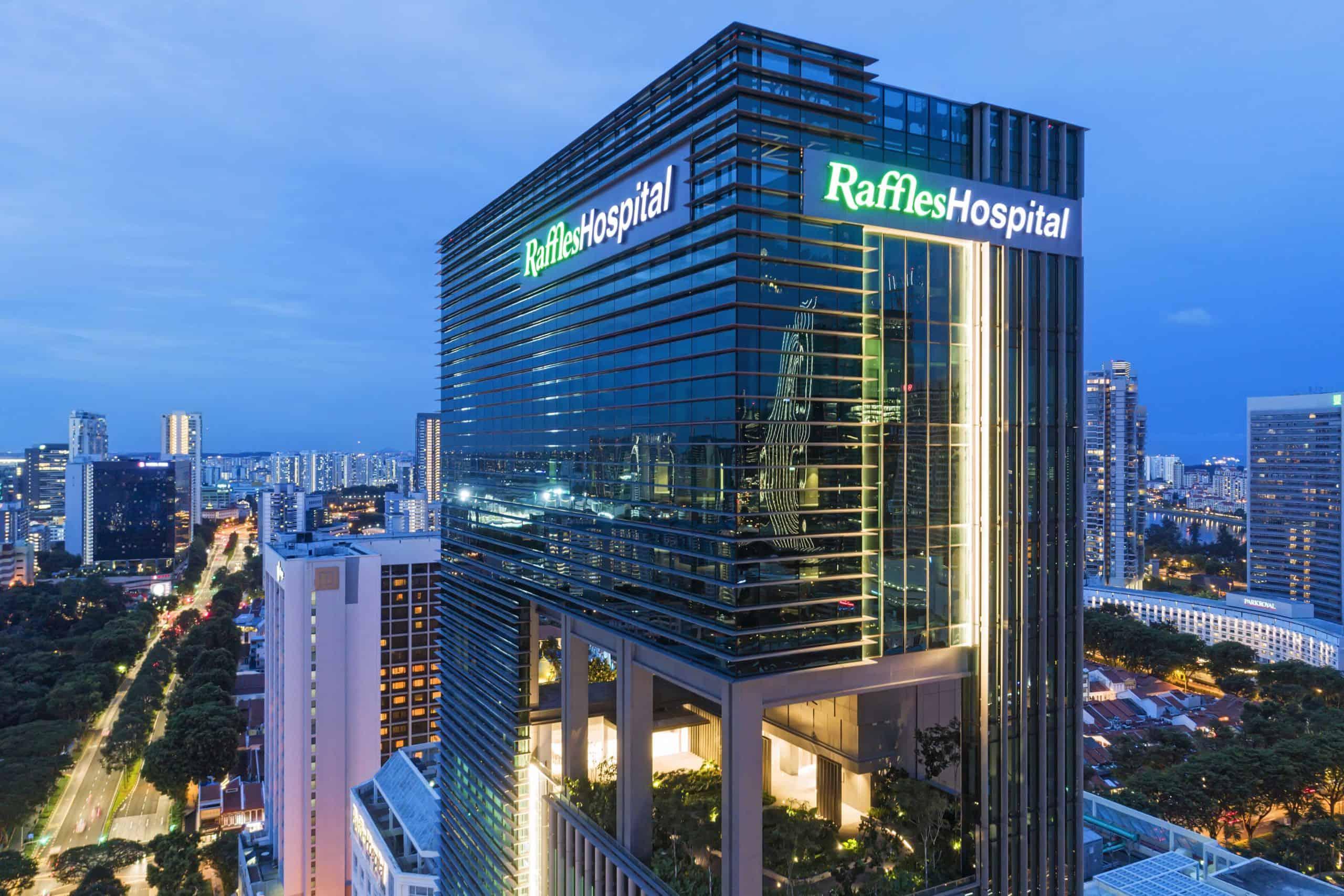 Raffles Hospital - Blue Hour_LR